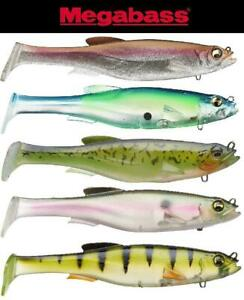 """Megabass MagDraft Pre-Rigged 6"""" Soft Swimbait (Select Color)"""