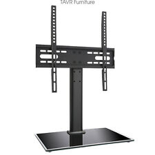 """Universal TableTop TV Stand Base with Mount Bracket for 27"""" to 55"""" TVs"""