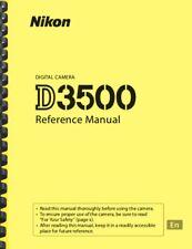 Nikon D3500 Digital Camera REFERENCE MANUAL