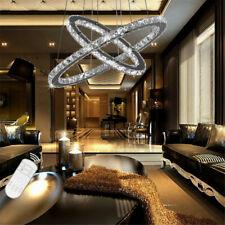 48W LED cristallo Lampadario a sospensione dimmerabile Lampadari da soffitto