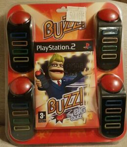Buzz The Big Quiz  PLAYSTATION PS2 Game - NEW  AND SEALED.