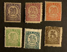 E5/6 Spain Stamp 1938 6 MHOG A Very Nice Collection