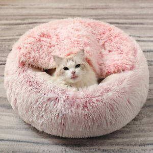Pet Bed Soft Plush Cat Beds Puppy House Warm Dog Cats Sleeping Cage Pet Nest