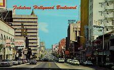 Fabulous Hollywood Boulevard Vintage Postcard P58