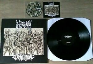 MASTER / DEHUMAN DECAY INTO INFERIOR... LP France 2018 Limited Numbered + CD