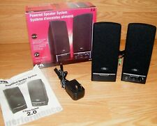 Cyber Acoustics (CA-2014) 2.0 Wired Computer Speaker System w/ Volume Control