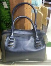 Steve Madden Blue and Gray Purse Handbag Snakeskin Pattern