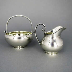 Dairy Founder And Sugar Bowl From Scotland