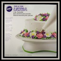 NEW! Wilton ***TRIM-n-TURN ULTRA*** Cake Turntable NIB #301