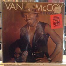 SEALED LP~VAN MCCOY~The Disco Kid~{Original 1978~AVCO Issue]~Disco Instrumentals