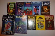 10 Lot Science Fiction,Fred Savergagen,George Chesbro,J.R.R. Tolkein,Star Wars+