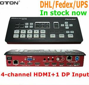 OTON A13 Super Stream video switcher 4 HDMI+1 DP input SDI DVD output Switchers