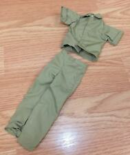 Genuine Hasbro G.I. Joe Army Green Vintage Style Button Up Shirt & Pants Only
