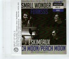 (HK809) Beach Moon Peach Moon/Eskimeaux/Furnsss/Small Wonder, split - 2016 DJ CD