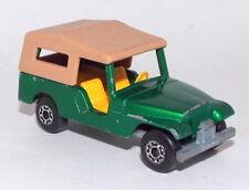 Lesney Matchbox Die Cast Superfast No.53 (1977) Jeep CJ-6 in Green