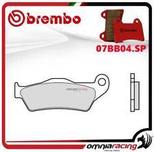 Brembo SP pastillas freno sinter trasero Moto Morini Granpasso 1200 2008>