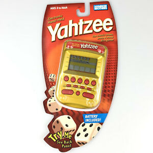 Electronic Yahtzee Hand Held Game Parker Brothers NEW Sealed 2004