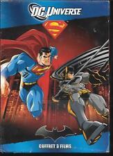 COFFRET 3 DVD ZONE 2--DC UNIVERSE--BATMAN - SUPERMAN BATMAN ENNEMIS PUBLICS-NEUF
