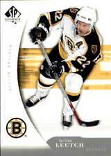 2005-06 SP Authentic #9 BRIAN LEETCH  Bruins