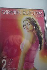 Carmen Electra's Fit to Strip (DVD, 2004)-Brand New
