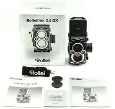 [Rare!! Unused] Rolleiflex 2.8GX 6x6 TLR Camera Planar 80mm F2.8 Lens from Japan