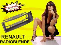 Radioblende RENAULT Megane, Megane Scenic COUPE CABRIO in Farbe SCHWARZ > Neu <