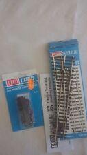 aiguillage moteur électrique peco ho code 100 sl 92 nickel silver rail train