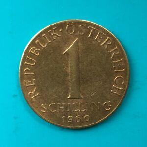 1 Schilling 1960 Österreich - Austria Coin