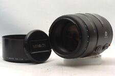 @ Ship in 24 Hours! @ Excellent! @ Minolta AF 100mm f2.8 Macro Sony A-Mount Lens