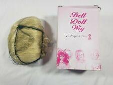 Bell Ceramics Doll Wig Precious Color Pale Blonde Size 15-16 #5652