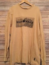 RocaWear Spellout Long Sleeve Graphic TShirt Mens XL