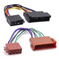 DIN ISO Radio Adapter Kabel 16 Pol Auto 8 Pin Buchse Norm Stecker Hifi Für Ford