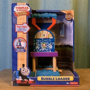 Thomas & Friends  Wooden Railway Bubble Loader Fisher Price NEW in BOX 2015