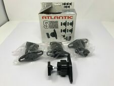 4 Pieces - Atlantic Satellite Speaker Mounting Bracket Swivel/Tilt