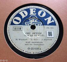 Nice Price: Nat Gonella - Oh ! Peter ! / Pidgin English Polka ODEON (549)