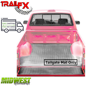 TrailFX Rubber Tailgate Mat C Fits 2015-2019 Chevrolet Colorado GMC Canyon
