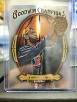 2020 Upper Deck Goodwin Champions LeBron James Silver Holo Refractor Lakers GB10