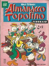ALMANACCO TOPOLINO 1963 N.2