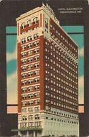 Indianapolis, INDIANA - Hotel Washington - ARCHITECTURE