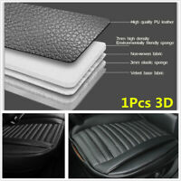 2019 Black PU 3D Surrounded Front Seat Cover Protector Universal w/ Storage Bag