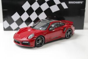 1:18 Minichamps Porsche 911 (992) Turbo S Coupe 2020 red