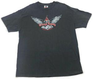Vintage Alstyle Black Orange County Choppers OCC Graphic T Shirt Men's Size  XL