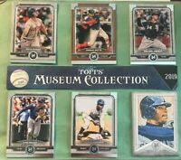 Pick your cards - Lot 2019 Topps Museum Collection base & Canvas Collection