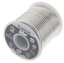 Plumbing Solder Premium Silver Solid Wire Harris Dia118 In 1 Lb Spool