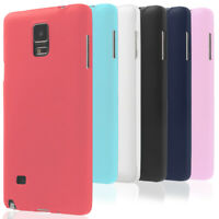 Mobile Cover Plain for Samsung Galaxy Note 4 Back Soft Rubber Case Slim Shell