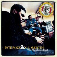 PETE ROCK & C.L.SMOOTH - THE MAIN INGREDIENT  2 VINYL LP NEU