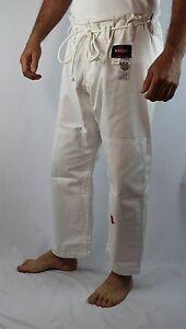 KANKU Rip Stop Heavy duty Jiu jitsu Gi pants 12oz Bjj Pants Black White Blue