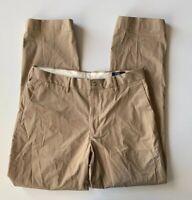 Polo Ralph Lauren Stretch Classic Fit Chino Mens Khaki Pants 34x32