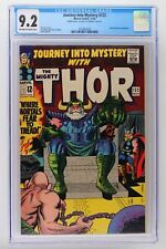 Journey Into Mystery #122 - Marvel 1965 CGC 9.2 - Thor - Double Cover!