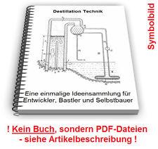 Destillation Destille selbst bauen - Destillieren Verfahren Technik Patente